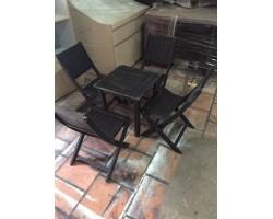Thanh lý bộ ghế cafe gỗ tự nhiên