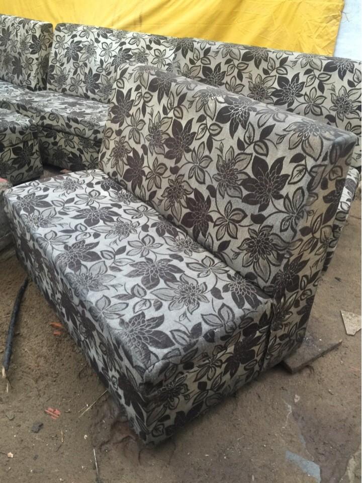 Thanh lý ghế sofa vải đôi 2 người ngồi
