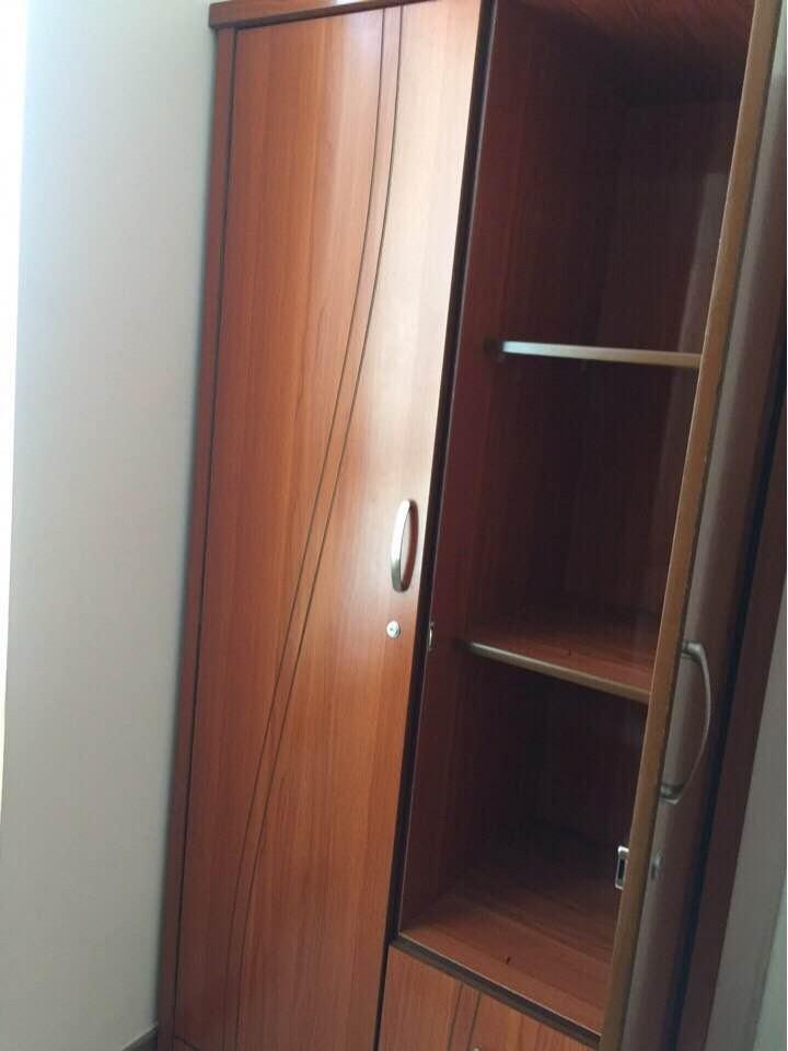 Thanh lý tủ quần áo MDF 2 cánh 1mx2m