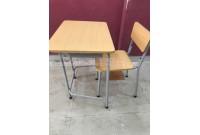 Thanh lý 60 bộ bàn ghế học sinh cũ giá rẻ