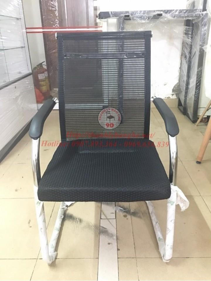 Thanh lý ghế chân quỳ lưng lưới trung nệm vải