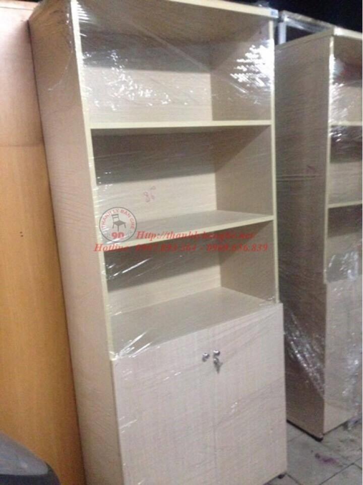 Tủ hồ sơ 3 ngăn có tủ nhỏ phía dưới