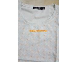 Thanh lý 7 nghìn áo thun cotton hàng xuất khẩu