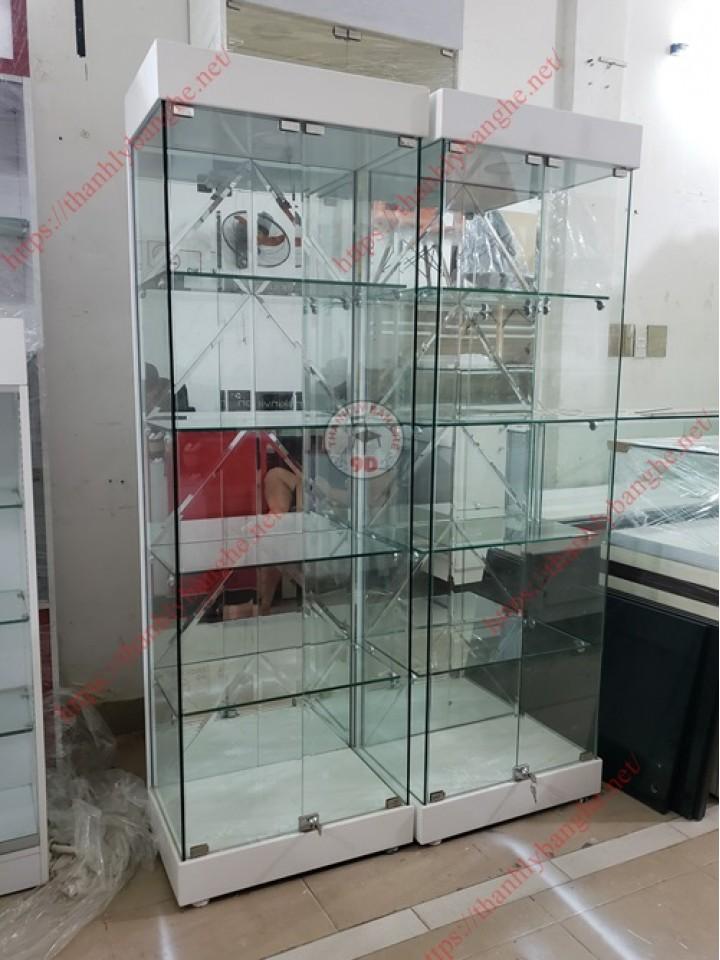 Thanh lý tủ kính trưng bày nhỏ ms900