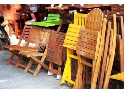Bán bàn ghế café thanh lý giá rẻ tại Q.1