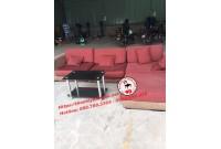 Thanh lý bộ sofa chữ L cũ giá rẻ tại Tphcm