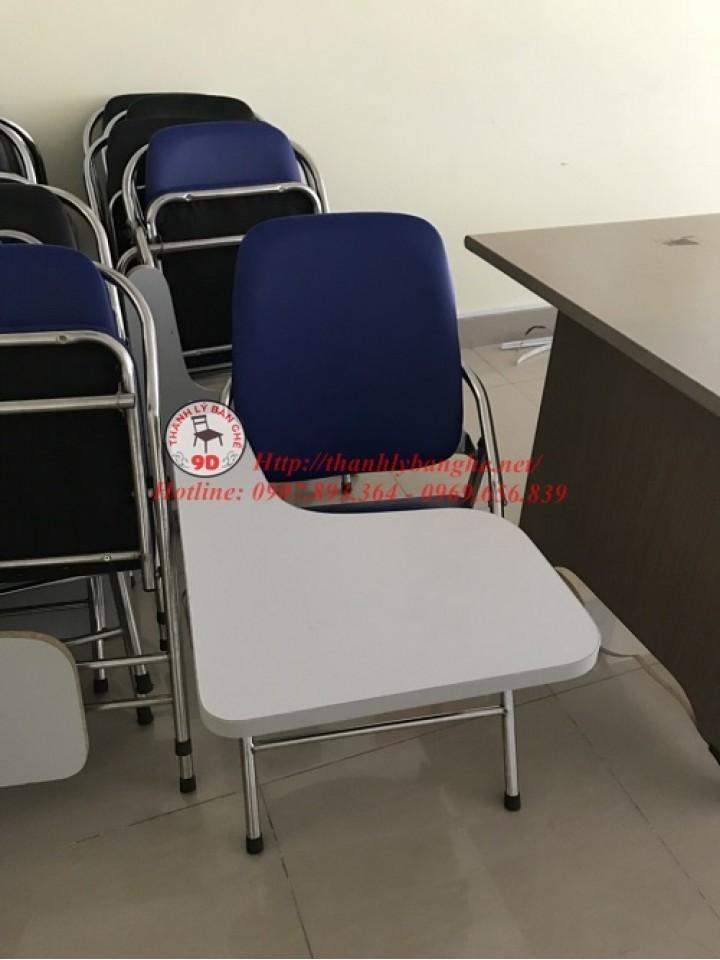 Thanh lý ghế xếp liền bàn lưng dài cũ giá rẻ