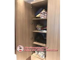 Thanh lý 4 tủ quần áo cũ 3 cánh giá rẻ MS 626