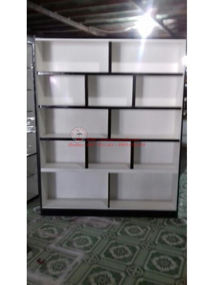 Thanh lý 10 tủ kệ kiếng trưng bày nhiều tầng và kích thước