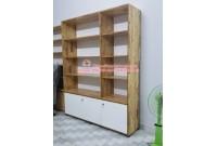 Thanh lý tủ kệ trưng bày gỗ ghép cũ giá rẻ