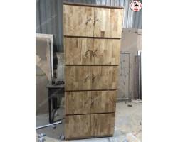 Thanh lý tủ locker bằng gỗ tư nhiên chống nước