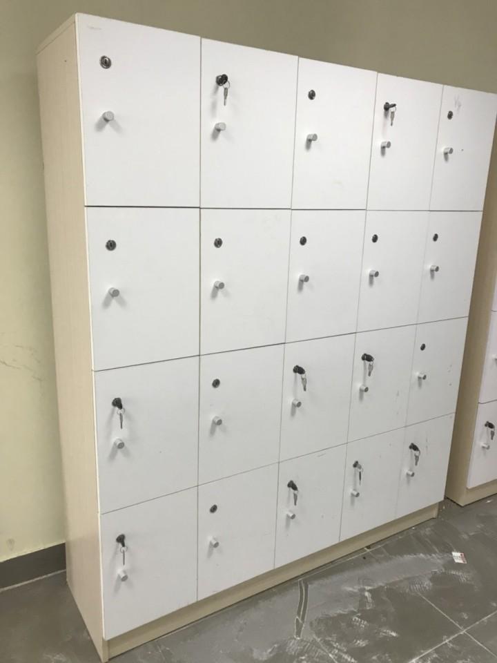 Thanh lý tủ locker ván cũ giá rẻ