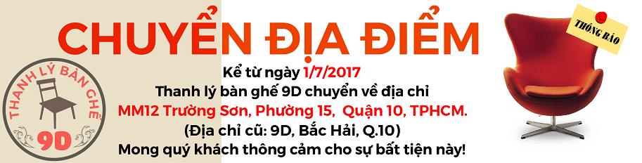 Thanh Lý Bàn Ghế Văn Phòng Cũ 9D