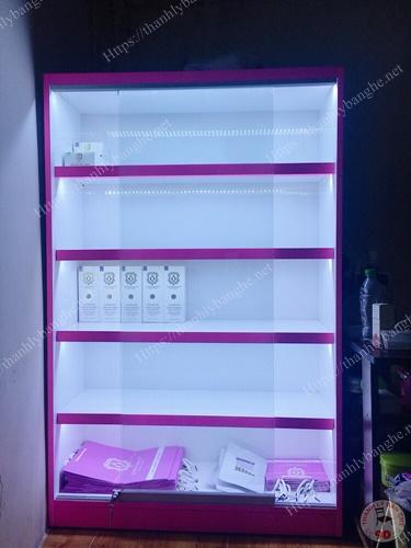 Thanh lý tủ kệ trưng bày mỹ phẩm nhỏ giá rẻ MS921