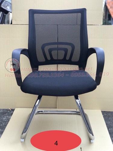 Thanh lý 20 ghế chân quỳ vải nệm lưng lưới cũ MS848