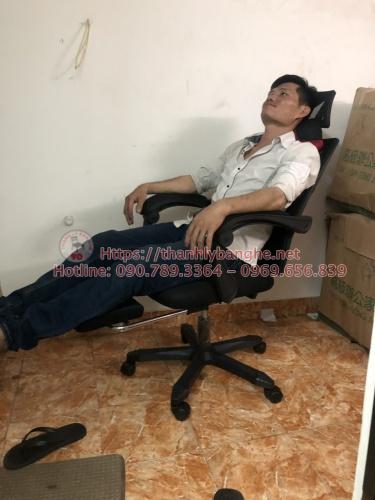 Ghế xoay trưởng phòng có thể ngả lưng cũ MS862