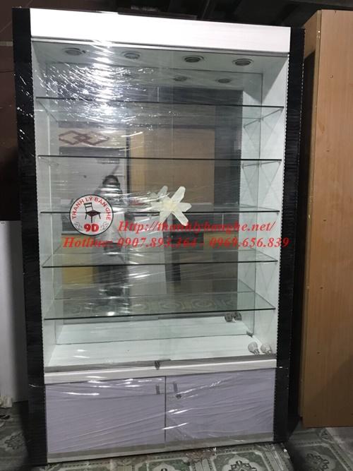 Thanh lý tủ kính trưng bày ms 630