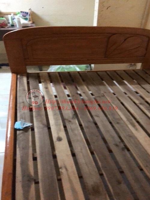 Thanh lý giường cũ bằng gỗ