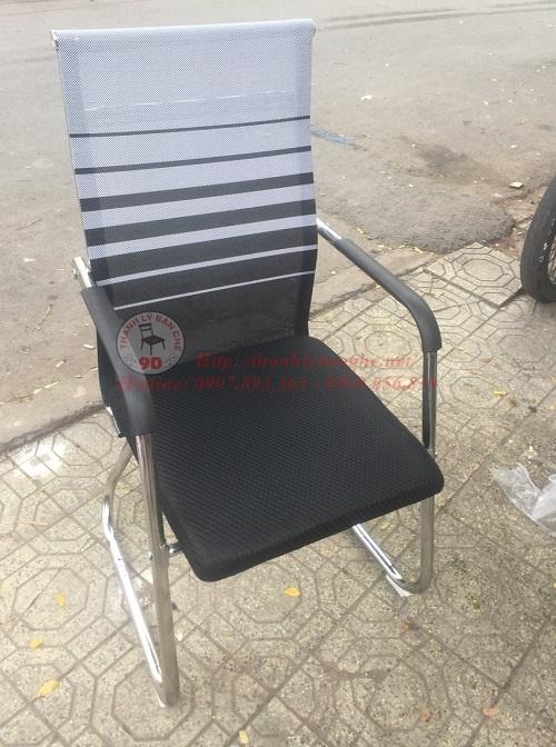 Thanh lý 5000 ghế chân quỳ lưng lưới cao cũ giá rẻ tại TpHCM