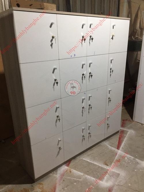 Thanh lý tủ locker 16 ô