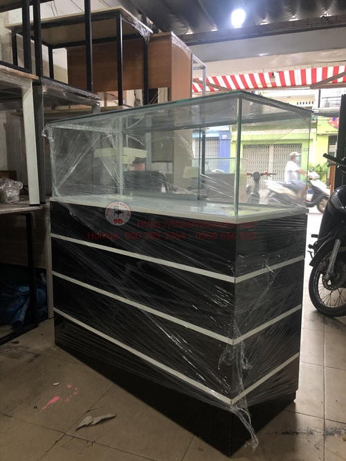 Thanh lý tủ trưng bày nhỏ 1m2 giá rẻ MS868
