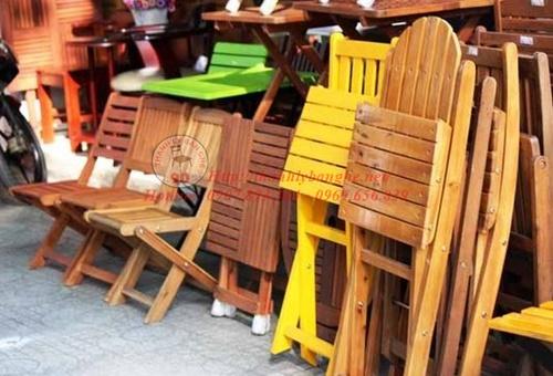 Thanh lý bàn ghế cafe giá rẻ tại TpHCM