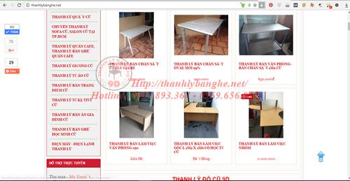 Cửa hàng thanh lý 9D - đồ cũ giá rẻ tại TPHCM