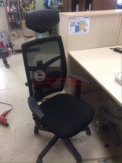 kinh nghiệm mua ghế văn phòng cũ tại tphcm