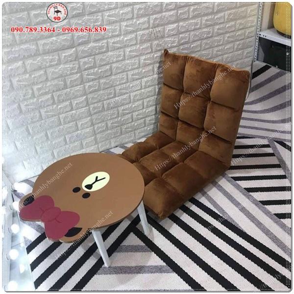 Ghế bệt Tatami, Ghế lười, Ghế thư giãn, ghế đọc sách MS966