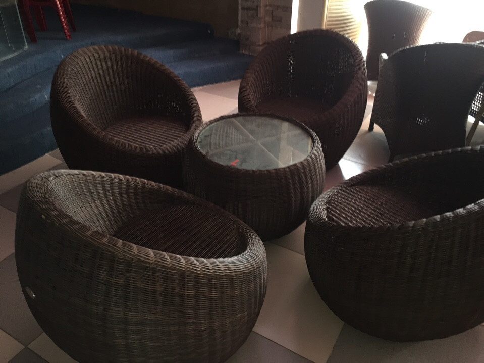 mua bàn ghế cà phê cũ