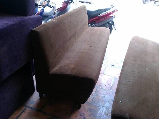 sofa cafe bọc vải cũ