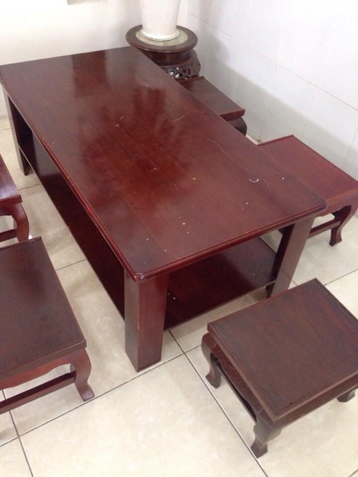 bán bàn ghế gỗ cũ