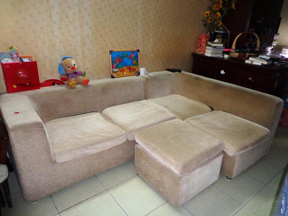 sofa góc thanh lý