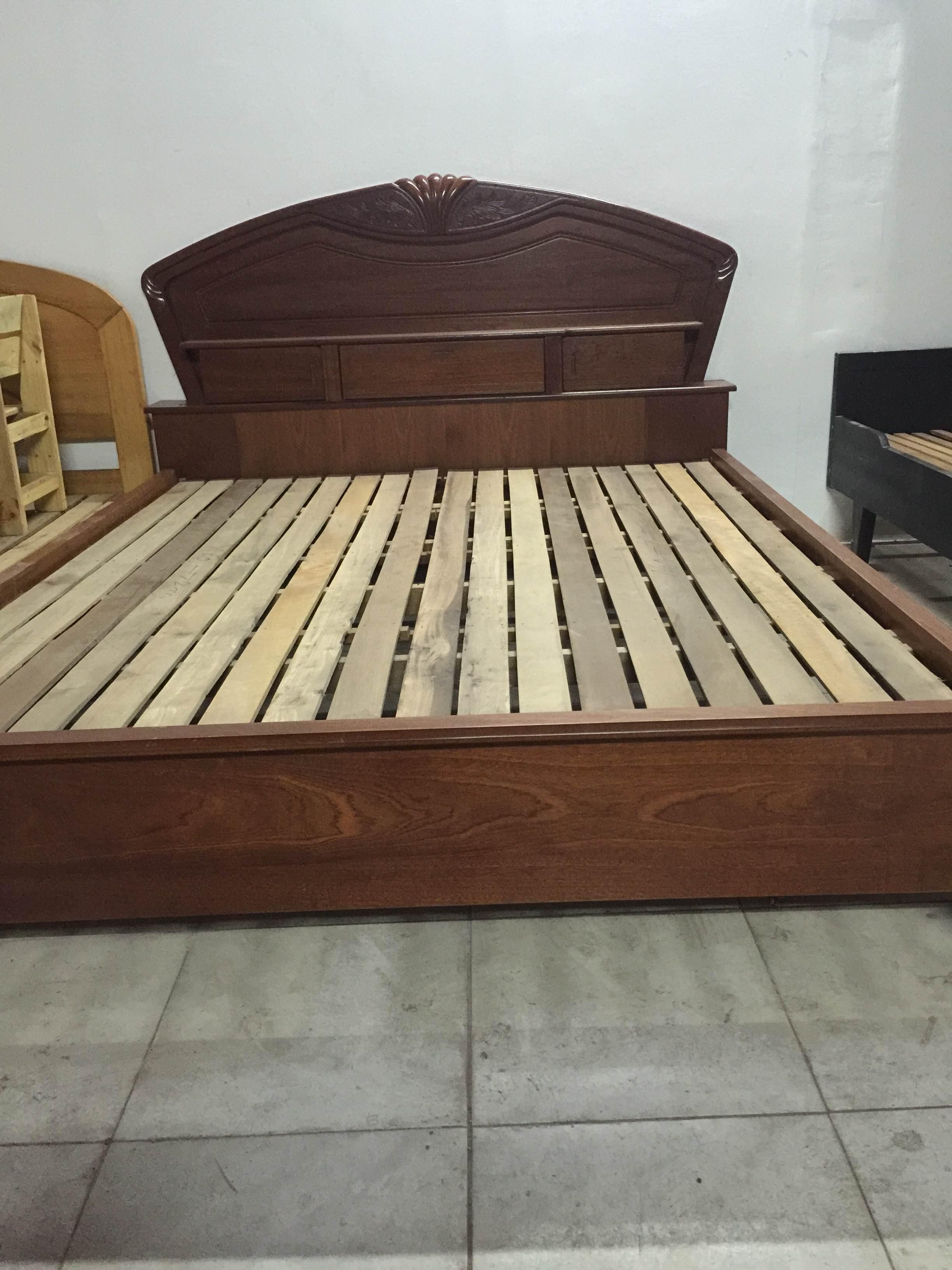 thanh lý giường MDF 1m6 cũ