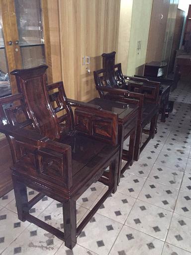 thanh lý bộ salon gỗ