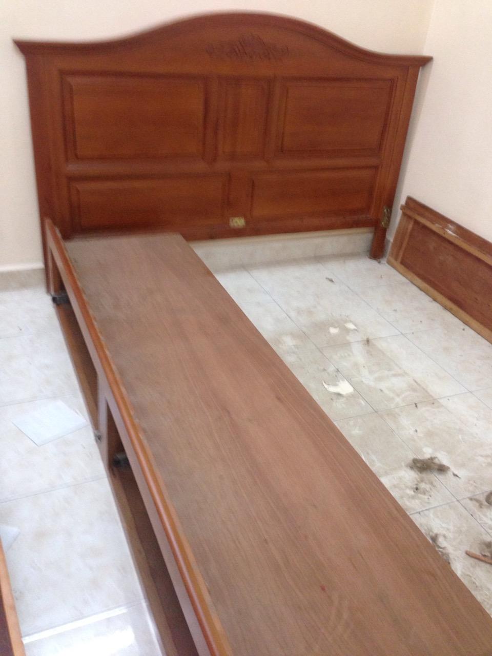 bán giường gỗ 1m6 cũ