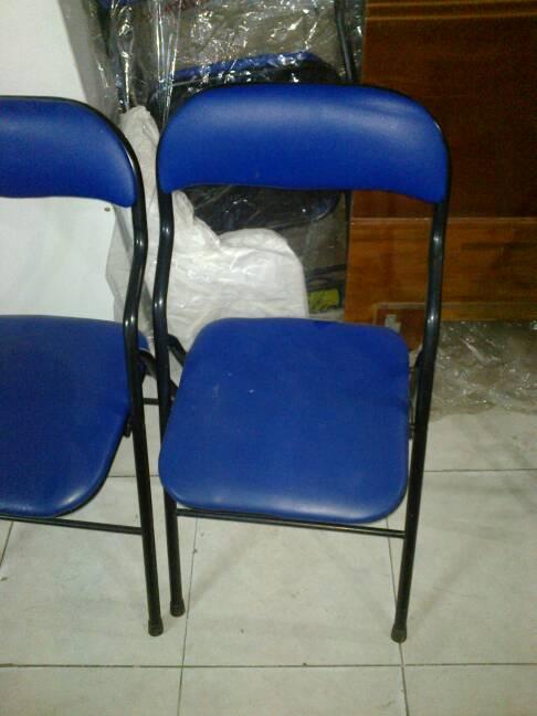 ghế xếp chân sắt cũ