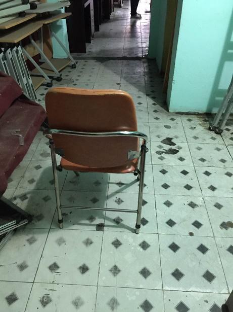 ghế xếp inox thanh lý