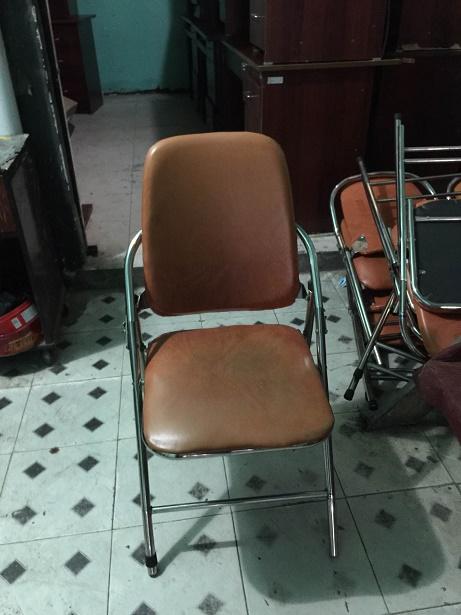 ghế xếp inox Hòa Phát cũ