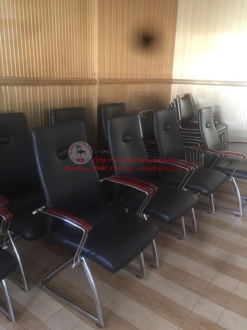 thanh lý 15 ghế chân quỳ văn phòng cũ