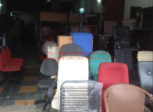 ghế văn phòng cũ thanh lý