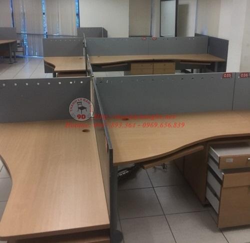 nội thất bàn ghế văn phòng thanh lý