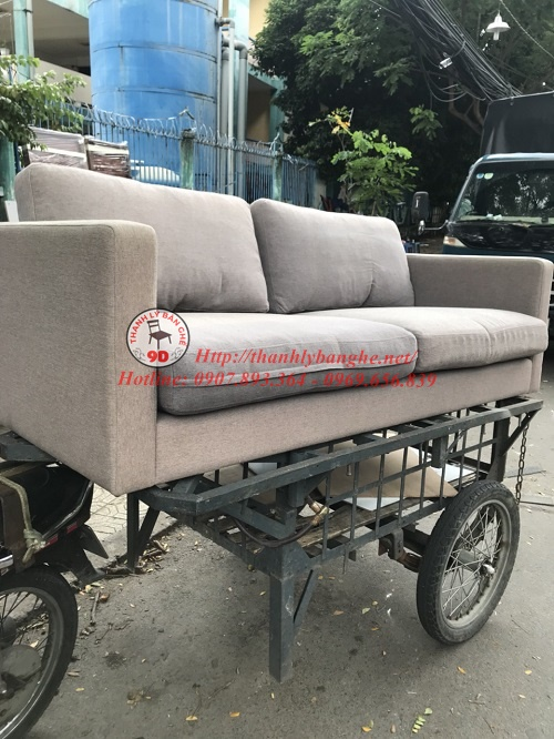 Thanh lý ghế sofa băng dài giá rẻ tại TpHCM