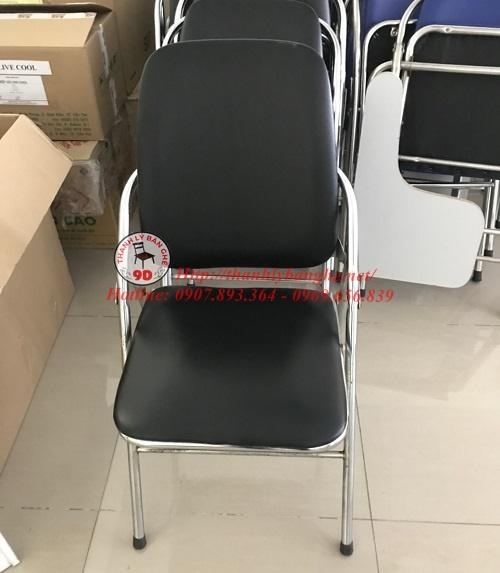 Thanh lý ghế xếp học sinh lưng dài đèn cũ giá rẻ