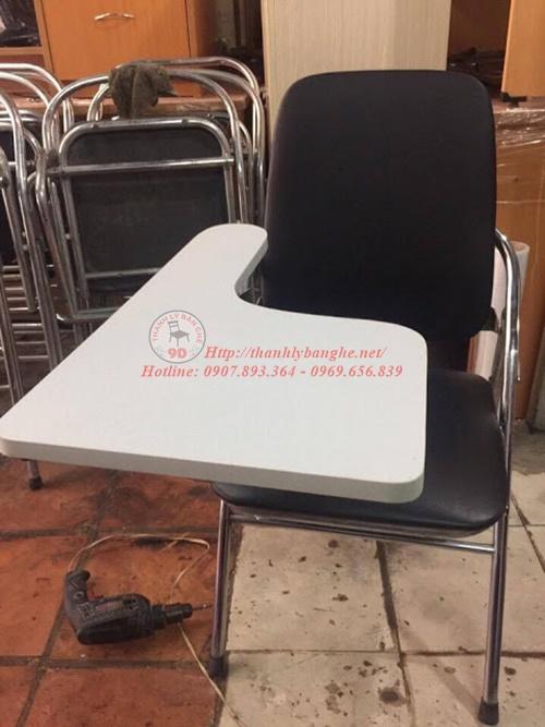 ghế xếp liền bàn 350
