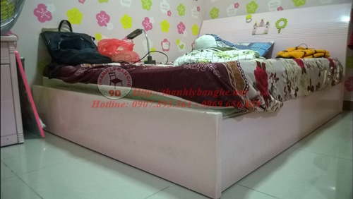 Thanh lý giường cũ cao 1M4