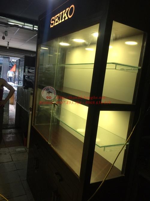 Thanh lý tủ kiếng trưng bày cao cấp tại TPHCM