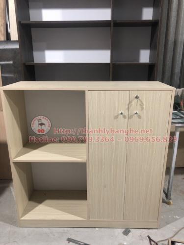 Tủ hồ sơ văn phòng 1m2 thanh lý MS810 giá rẻ