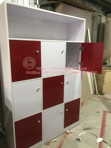 Thanh lý tủ hồ sơ locker 1m8 cũ giá rẻ