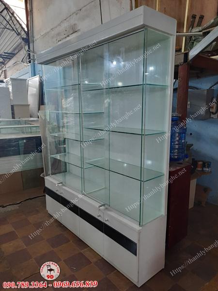 Tủ trưng bày 1M6 thanh lý giá rẻ MS976